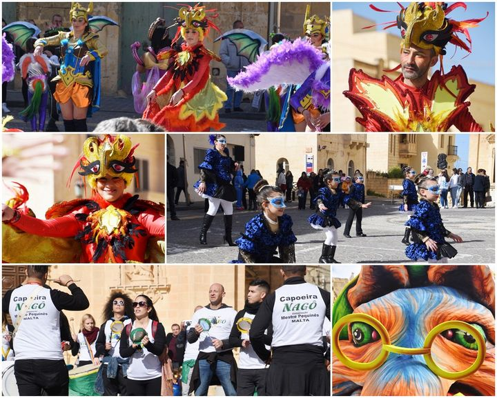Gharb Carnival draws the crowds for colourful dance fun and laughter