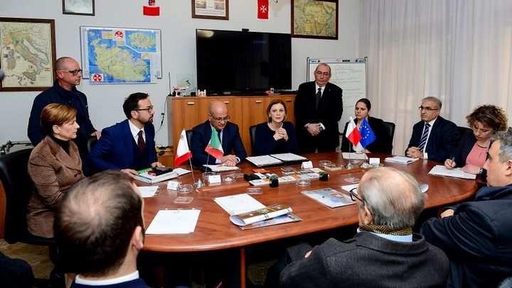 Palermo meetings to promote collaboration with Gozo and Malta