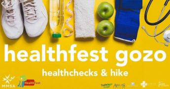 Healthfest Gozo: Health checks, advice and a hike with the MMSA