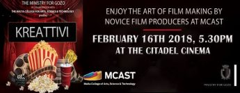 Kreattivi - The art of film making by novice producers at MCAST