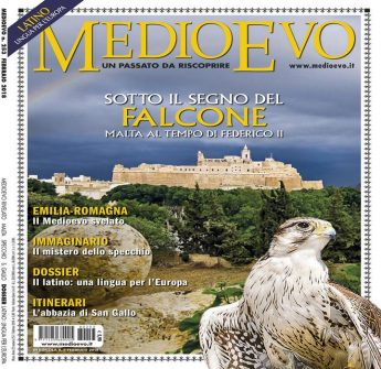MedioEvo magazine features Gozo's Citadel on the front cover