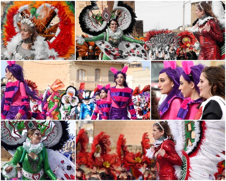 Munxar celebrates Carnival on the Feast of St Paul