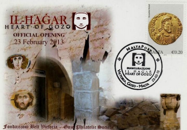 Philatelic Museum Pieces on Maltese Postage Stamps at Il-Hagar
