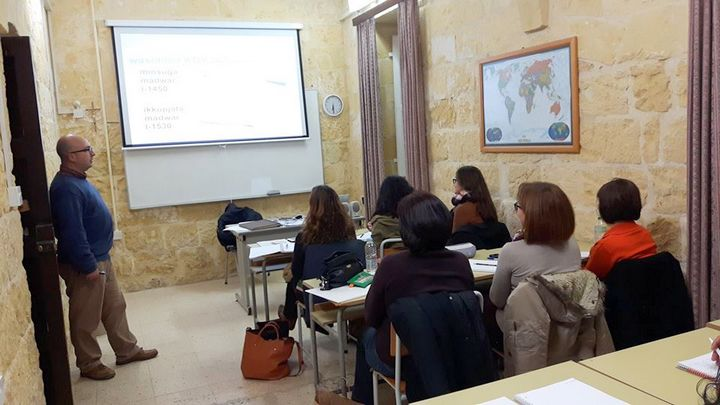 Participants start course on Proofreading in Maltese at Gozo Campus