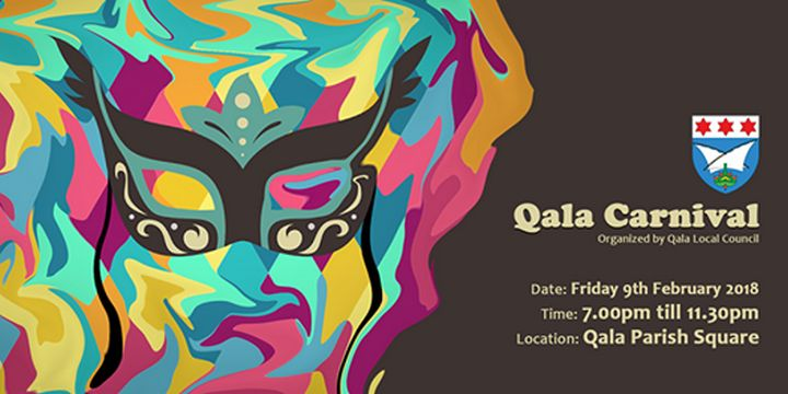 Qala Carnival 2018 this Friday evening in the Parish Square