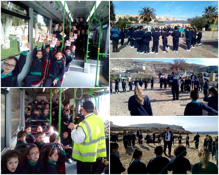 St Francis School students take part in Road Safety Trip Campaign