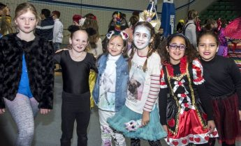 Carnival fun and games for the students of Victoria Primary School