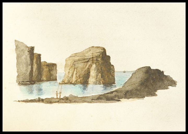 Exhibition: Historic watercolours of Gozitan Notary Antonio Portelli