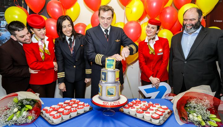 Bilbao flight into MIA marks the launch of airport's summer schedule