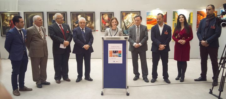 Exhibition of Gozitan artists opens at the European Parliament