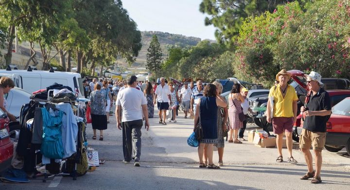 Arka Foundation fundraising charity car boot sale in Gozo