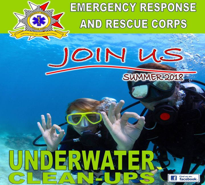 Qualified divers invited to help ERRC in summer underwater clean-ups
