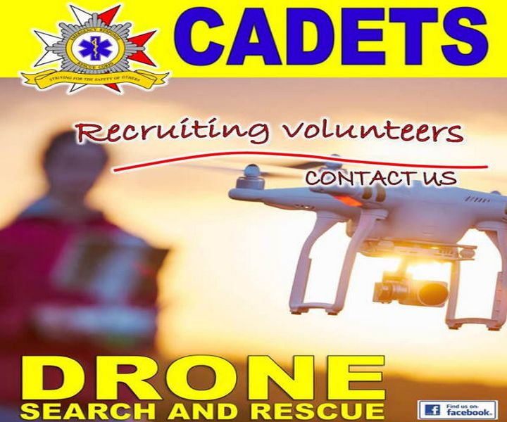 Call for youth volunteers to assist in ERRC Cadets Drone Project