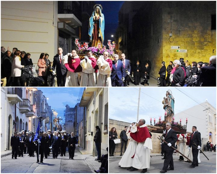 Good Friday solemn procession held in Xaghra