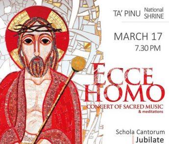 Ecce Homo - a Lenten Concert with Schola Cantorum Jubilate