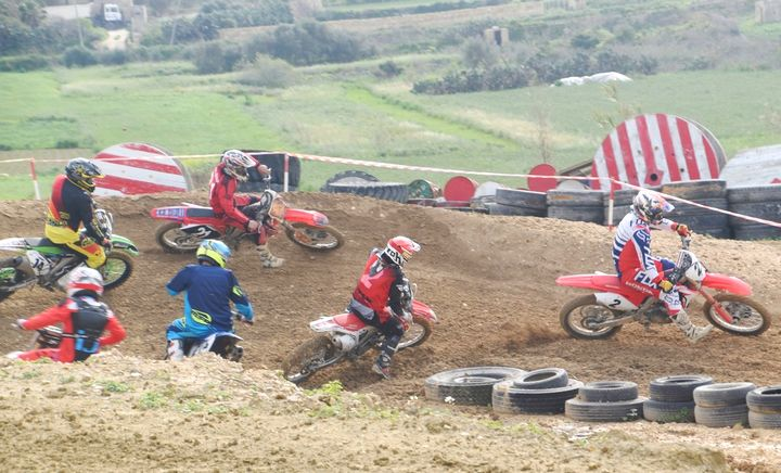 Gozo Motocross Association FunRace Easter Sunday at Ta' Xhajma track