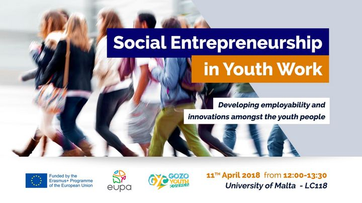 Gozo Youth Council seminar on Social Entrepreneurship in Malta