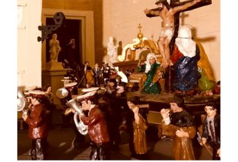 Miniature Good Friday `Procession' on display at Il-Hagar Museum