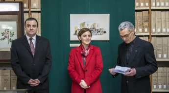 Exhibition of historic watercolours opened at the National Archives Gozo
