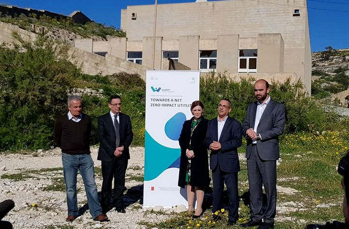 Energy Minister Joe Mizzi visits Reverse Osmosis site at Hondoq
