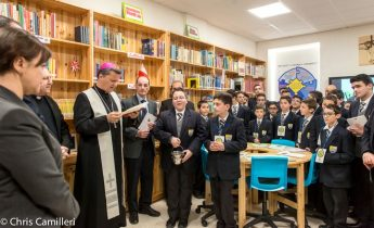 New library inaugurated at the Sacred Heart Minor Seminary