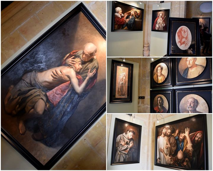 Sacred Art exhibition in Victoria by Gozitan artist Manuel Farrugia