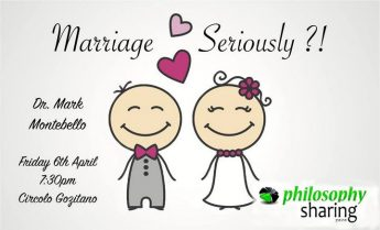 Marriage Seriously?! - Gozo debate with Dr Mark Montebello