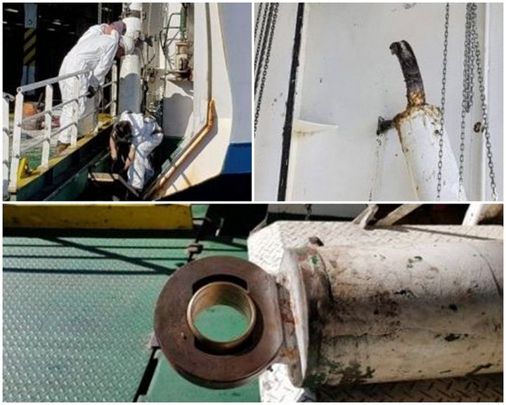 MV Malita ramp hydraulic failure, repair work underway - Gozo Channel