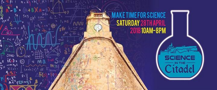 Don't miss Science in the Citadel this Saturday - Make time for science