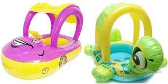 Unsafe swimming floats for babies withdrawn from local market