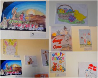Pasqua - Easter Competition Exhibition by young Gozo VPA students