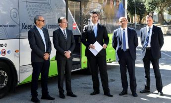 Pilot project for free Wi-Fi on 50 buses, including 2 in Gozo