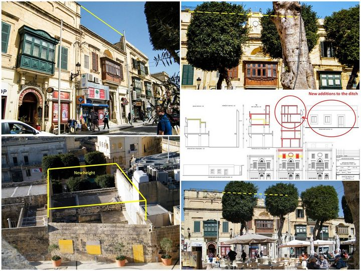 "Commercial interests ""invade"" Cittadella Ditch with plans for boutique hotel"