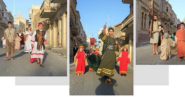 Xaghra children's Passion Pageant taking place on Palm Sunday