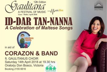 Id-Dar tan-Nanna in aid of Puttinu with Corazon and band in Gozo
