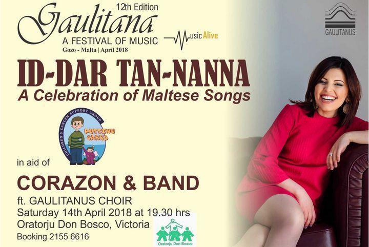 Id-Dar tan-Nanna in aid of Puttinu with Corazon and band in Gozo
