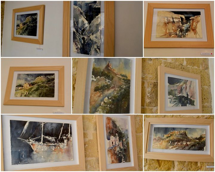 Exhibition of watercolours inspired by the beauty of Gozitan landscapes