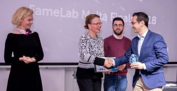 FameLab Malta competition won by Gozitan Dr Anthony Galea