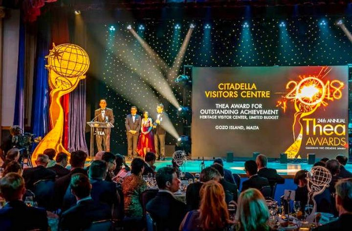 Cittadella Visitors' Centre wins prestigious award in America