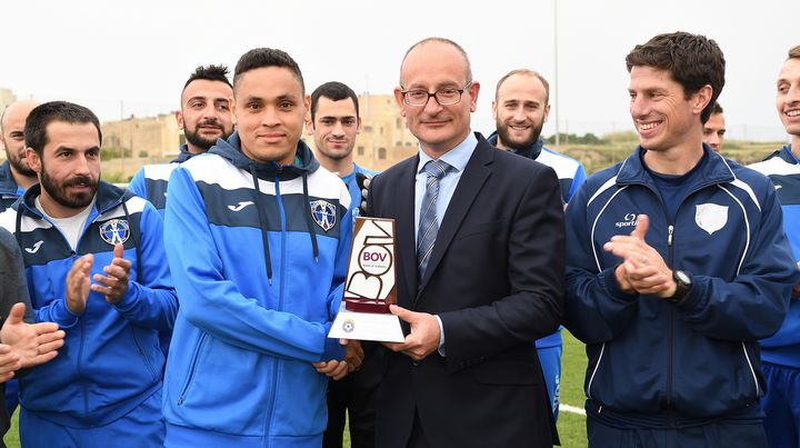 Marcelo Barbosa of Gharb Rangers wins the March POM award