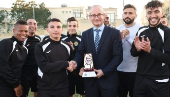 February Player of the Month Award goes to Ghajnsielem's Alberto Xuereb