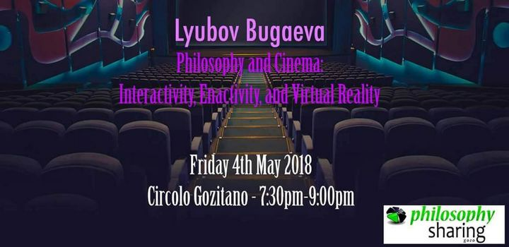 Philosophy Sharing Gozo's public talk cancelled with Lyubov Bugaeva