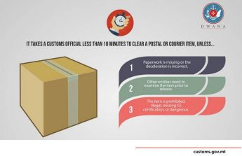 If your parcel is delayed by Customs this may help explain the reasons why