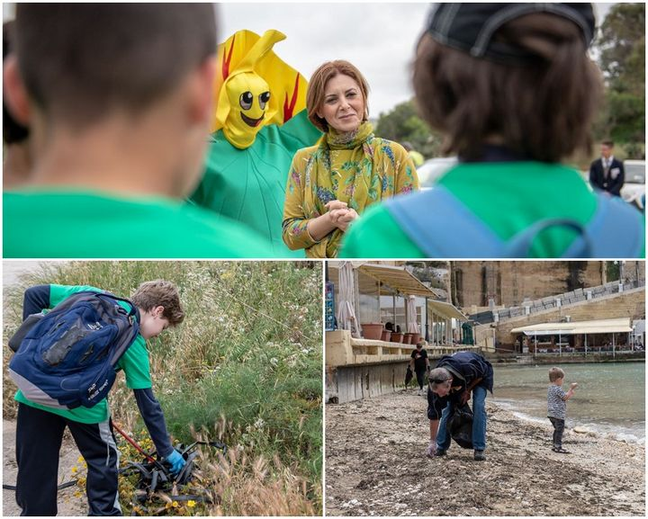 Gozo clean-up on land and see to mark Earth Day 2018