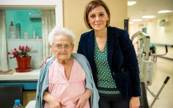 Minister for Gozo pays Easter visit to elderly residents at Gozo Hospital