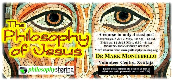 Dr Mark Montebello to deliver course on the Philosophy of Jesus