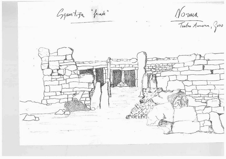 Norma set designs inspired by the Ggantija Temples in Gozo