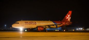 Air Malta welcomes its ninth aircraft to the fleet