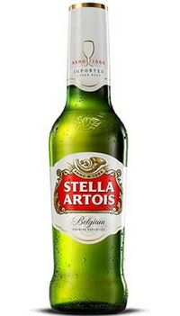 Warning on 33cl bottles of Stella Artois beer over bottle breakage