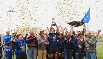 Xaghra United Under 15 team crowned champions for 3rd year running
